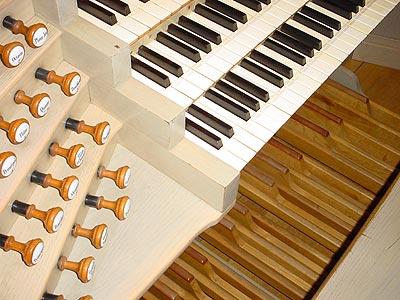 Clavier et pédalier
